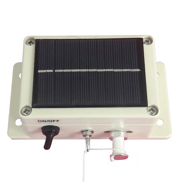 Portier pour poulailler solaire
