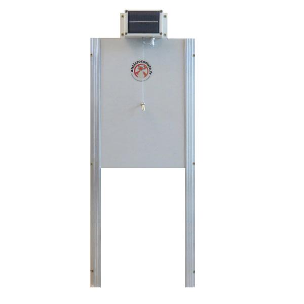 Trappe poulailler solaire automatique grande taille pour poulailler